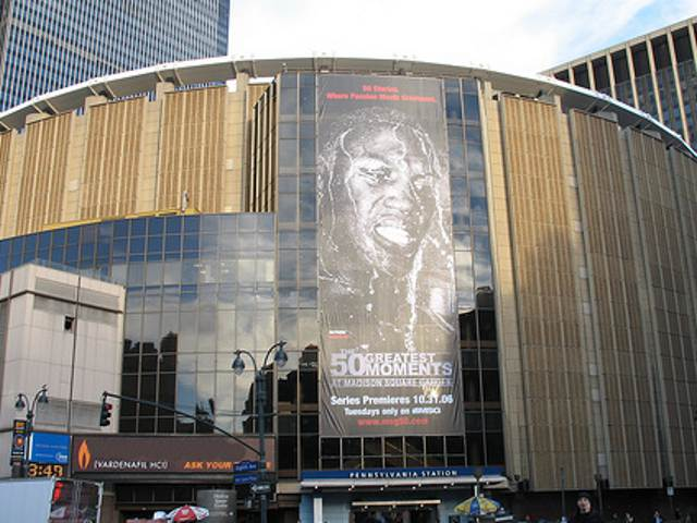 Madison Square Garden: Home of the New York Knicks