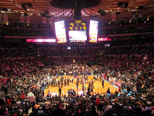 New York Knicks 200 Level Seats