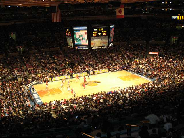 New York Knicks 300 Level Seats