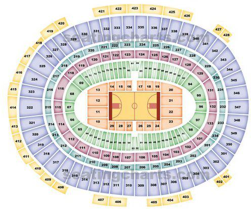 New York Knicks Seating Chart For Madison Square Garden Great Ideas